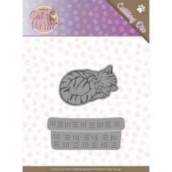 (ADD10188)Dies - Amy Design - Cats - Sleeping Cats
