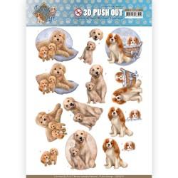 (SB10379)3D Pushout - Amy Design - Dog's Life - Dog Mommy