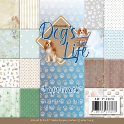 (ADPP10028)Paperpack - Amy Design - Dog's Life