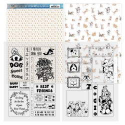 (ADMC1004)Mica Sheets - Amy Design - Dog's Life