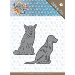 (ADD10189)Dies - Amy Design - Dogs - Sitting Dogs