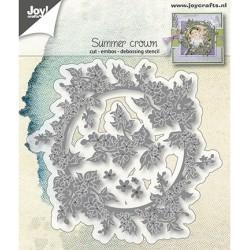 (6002/1298)Cutting,embossing & debossing dies summer crown