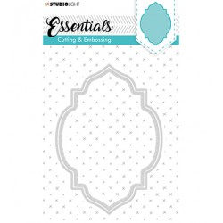 (STENCILSL201)Studio Light Cutting and Embossing Die, Essentials nr.201