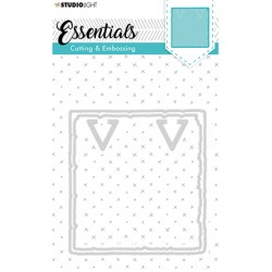 (STENCILSL202)Studio Light Cutting and Embossing Die, Essentials nr.202