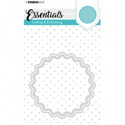 (STENCILSL203)Studio Light Cutting and Embossing Die, Essentials nr.203