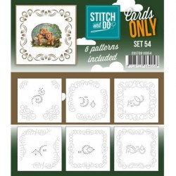 (COSTDO10054)Stitch & Do - Cards only - Set 54