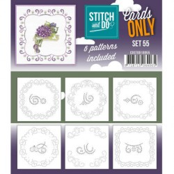 (COSTDO10055)Stitch & Do - Cards only - Set 55
