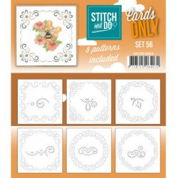 (COSTDO10056)Stitch & Do - Cards only - Set 56