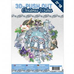 (3DPO10018)3D Pushout Book 18 Christmas Wishes