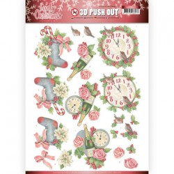 (SB10389)3D Pushout - Jeanine's Art - Lovely Christmas - Lovely Ornaments