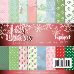 (JAPP10012)Paperpack - Jeanine's Art - Lovely Christmas