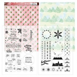 (JAMC1002)Mica Sheets - Jeanine's Art - Lovely Christmas