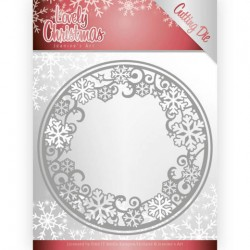 (JAD10077)Dies - Jeanine's Art - Lovely Christmas - Lovely Circle Frame