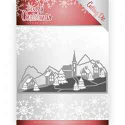 (JAD10079)Dies - Jeanine's Art - Lovely Christmas - Lovely Christmas Landscape