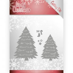 (JAD10081)Dies - Jeanine's Art - Lovely Christmas - Lovely Trees