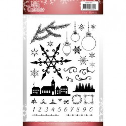 (JACS10029)Clear Stamps - Jeanine's Art - Lovely Christmas