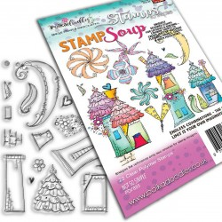 (PD7885)Polkadoodles Not So Simple Stamp Soup