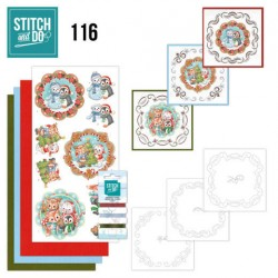 (STDO116)Stitch and Do 116 Sweet Winter Animals