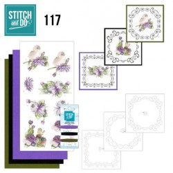 (STDO117)Stitch and Do 117 Chrysanthemum