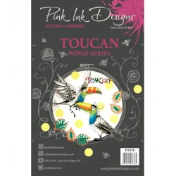 (PI030)Pink Ink Desings Toucan(Wings Series)