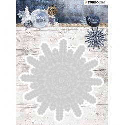 (STENCILSA216)Studio Light Cutting and Embossing Die Snowy Afternoon nr.216
