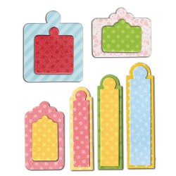 (658612)Framelits Die Set 12PK - Tags, Sentiments