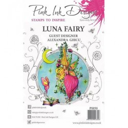 (PI050)Pink Ink Desings Luna Fairy