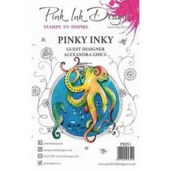 (PI051)Pink Ink Desings Pinky Inky