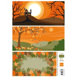 (AK0073)Eline's Autumn Backgrounds