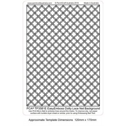 (TP3581E)PCA® - EasyEmboss Dotty Lace Background