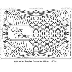 (TP3583E)PCA® - EasyEmboss Diagonal Mesh Frame 2