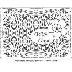 (TP3585E)PCA® - EasyEmboss Diagonal Mesh Frame 4