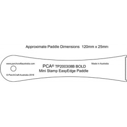 (TP200308B)PCA® - BOLD Mini Stamp & Twin EasyEdge Paddles