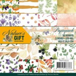 (PMPP10025)Paperpack - Precious Marieke - Nature's gift
