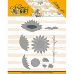 (PM10167)Dies - Precious Marieke - Nature's Gift - Sunflowers