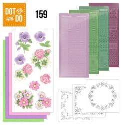 (DODO159)Dot and Do 159 Summer Flowers