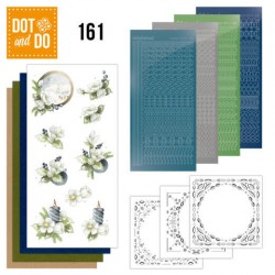 (DODO161)Dot and Do 161 Amaryllis and Blueberries