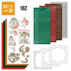 (DODO162)Dot and Do 162 Hedgehog and Rabbits