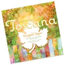 (ACC-CA-30891-88)GROOVI Design Paper Pack 8x8 TOSCANA
