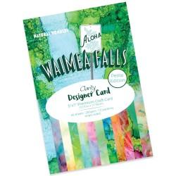(ACC-CA-30894-57)CLARITY DESIGNER CARD PETITE EDITION: WAIMEA FALLS