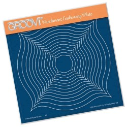(GRO-PA-41345-03)Groovi Plate A5 LINDA'S PEAKED FRAMES