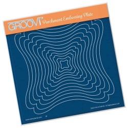 (GRO-PA-41348-03)Groovi Plate A5 LINDA'S TUCKED CORNER FRAMES