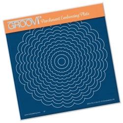 (GRO-PA-41344-03)Groovi Plate A5 LINDA'S SMALL FRAMES