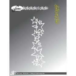 (BLD1196)By Lene Cutting & Embossing Dies star border