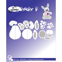 (BLD1203)By Lene Cutting & Embossing Dies rabbit