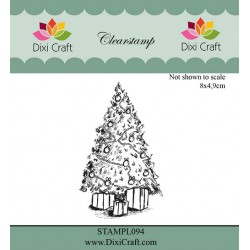 (STAMPL094)Dixi Craft Clear Stamp christmas tree
