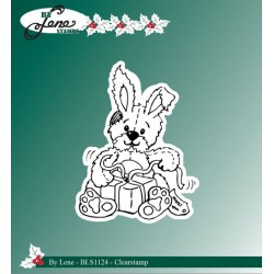 (BLS1124)By Lene Clear stamps rabbit