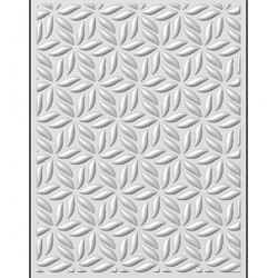(EF3D-015)Creative Expressions Embossing folder Stylised Poinsettia