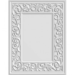 (EF3D-017)Creative Expressions Embossing folder Flourish Border Frame