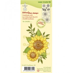 (55.6012)Clear Stamp Sunflower 3D
